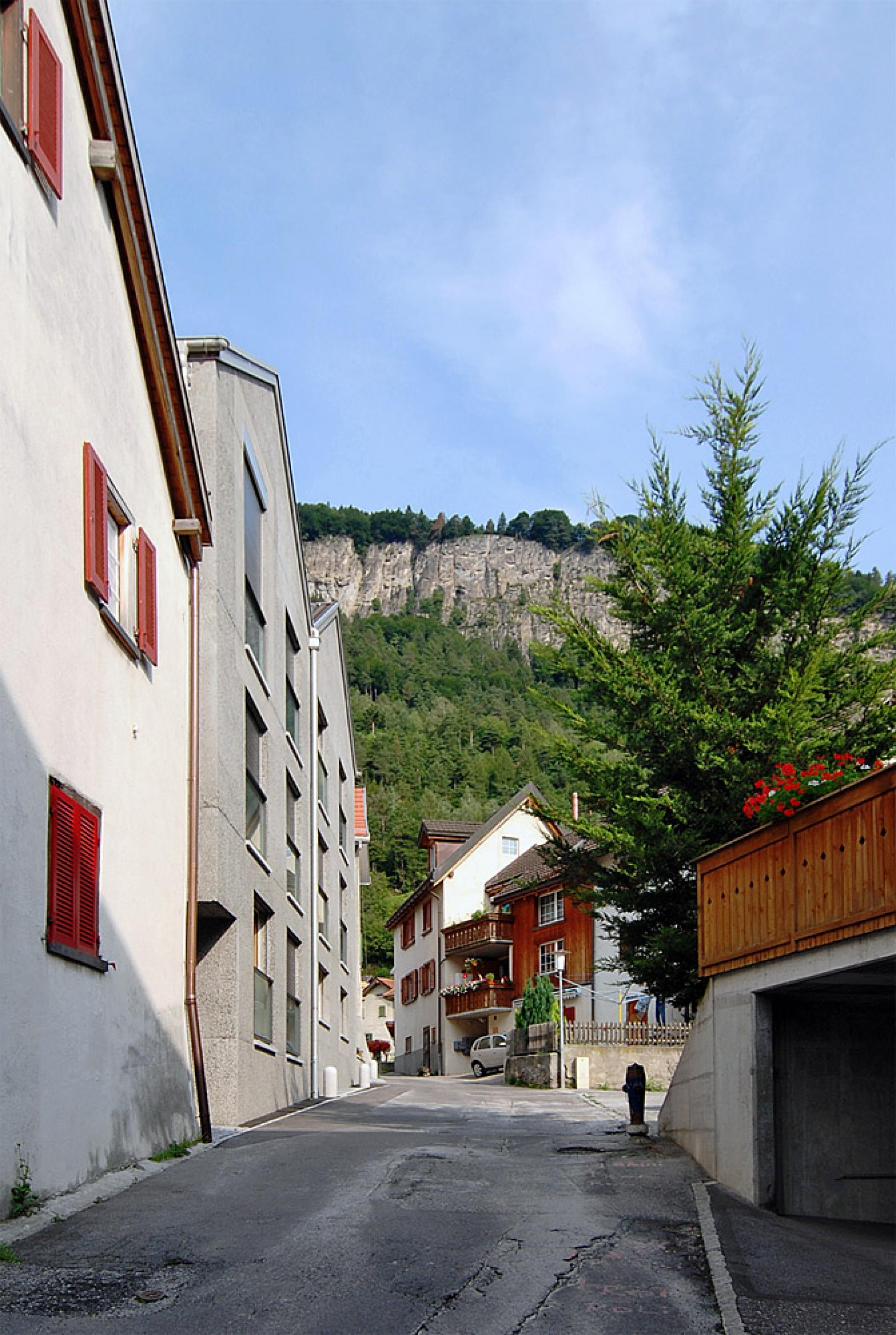 Archiweb Cz Wohnhaus Im Dorfzentrum Von Haldenstein