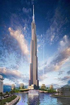Burj khalifa cena stavby