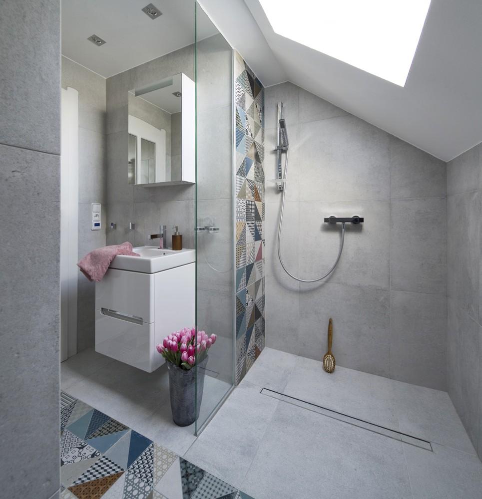 Rako cemento koupelna