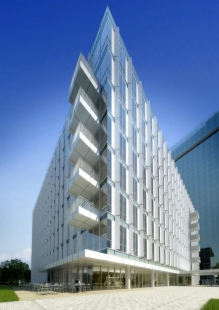 City Green Court - foto: Courtesy of Richard Meier & Partners Architects, vize.com