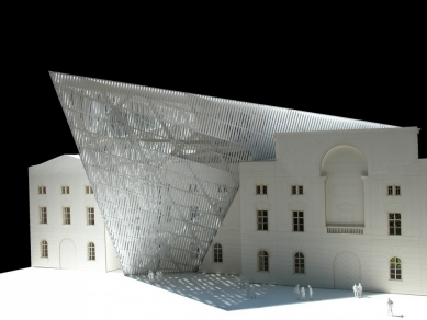 Vojenské muzeum - Model - foto: © Courtesy of Studio Daniel Libeskind