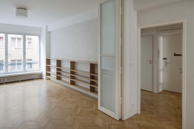 Apartment remodelling in Prague, Letna - foto: Tomáš Balej