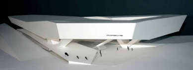 Porsche Museum - Model - foto: Delugan Meissl Associated Architects