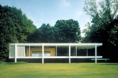 Edith Farnsworth House - foto: © Peter G. Palumbo, 2001; Friends of The Farnsworth House