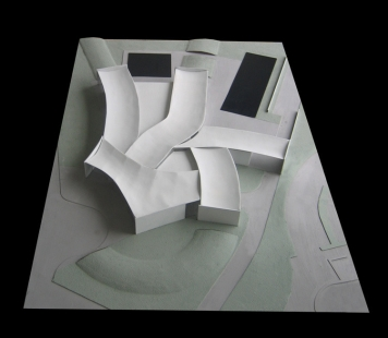 Herning Museum of Contemporary Art  - Model - foto: Steven Holl Architects