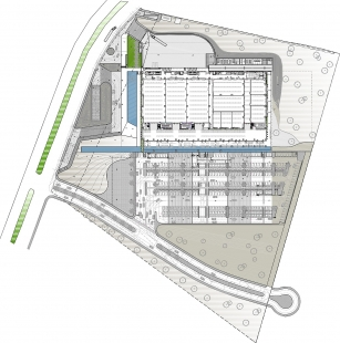 International Convention Center in Los Cabos - Site plan - foto: FR-EE