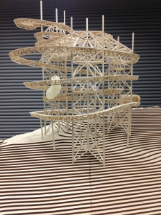 Sky Walk - Model - foto: Fránek Architects