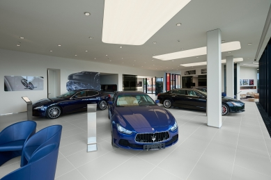 Showroom Scuderia - foto: Martin Legeer