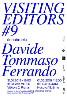 Visiting Editors #9 – Davide Tommaso Ferrando (Innsbruck): The Editorial Practice of Everyday Life