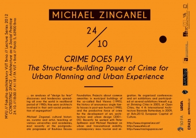 Michael Zinganel : Crime does pay!