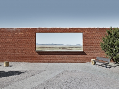 Architectural Photography Award 2017 - WINNER – Open category - foto: Matt Portch (The Wall Frame, Arizona, 2015)