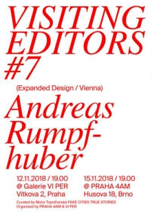 Visiting Editors #7 : Expanded Design
