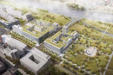 Náklady na druhou etapu Rohan City budou asi tři miliardy korun - foto: SCHINDLER SEKO ARCHITEKTI s.r.o.